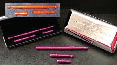 Anodized Aluminum Brush Kit