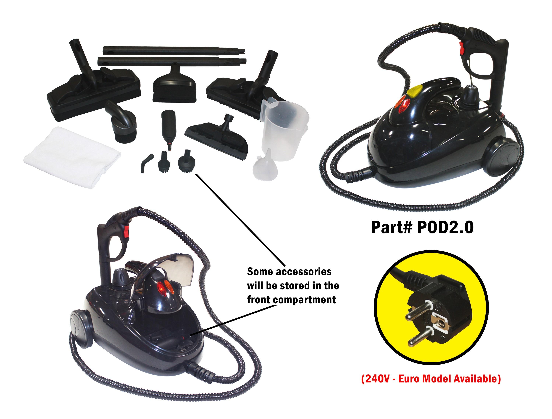 POD2.0 Steamer Pressure on Demand