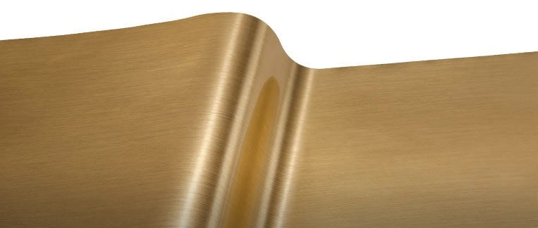 R-Tape EFX 2.8 mil Durable Metallized Vinyl Films Fine Brush - Gold