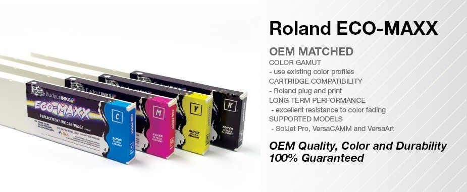 Roland Eco Maxx 440ml Inks