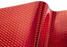 "R-TAPE EFX 2.8 mil Decorative Mosaic 1/4"" Cherry Red"