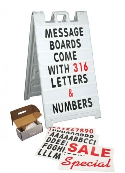Plasticade Message Board 8410