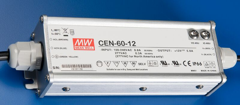 ILT 12V Power Supply (Meanwell 5 Year Warranty)