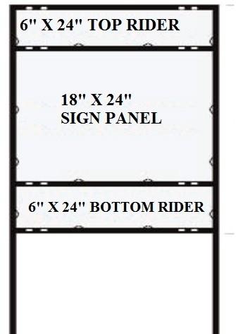 Top/Bottom Rider Frames