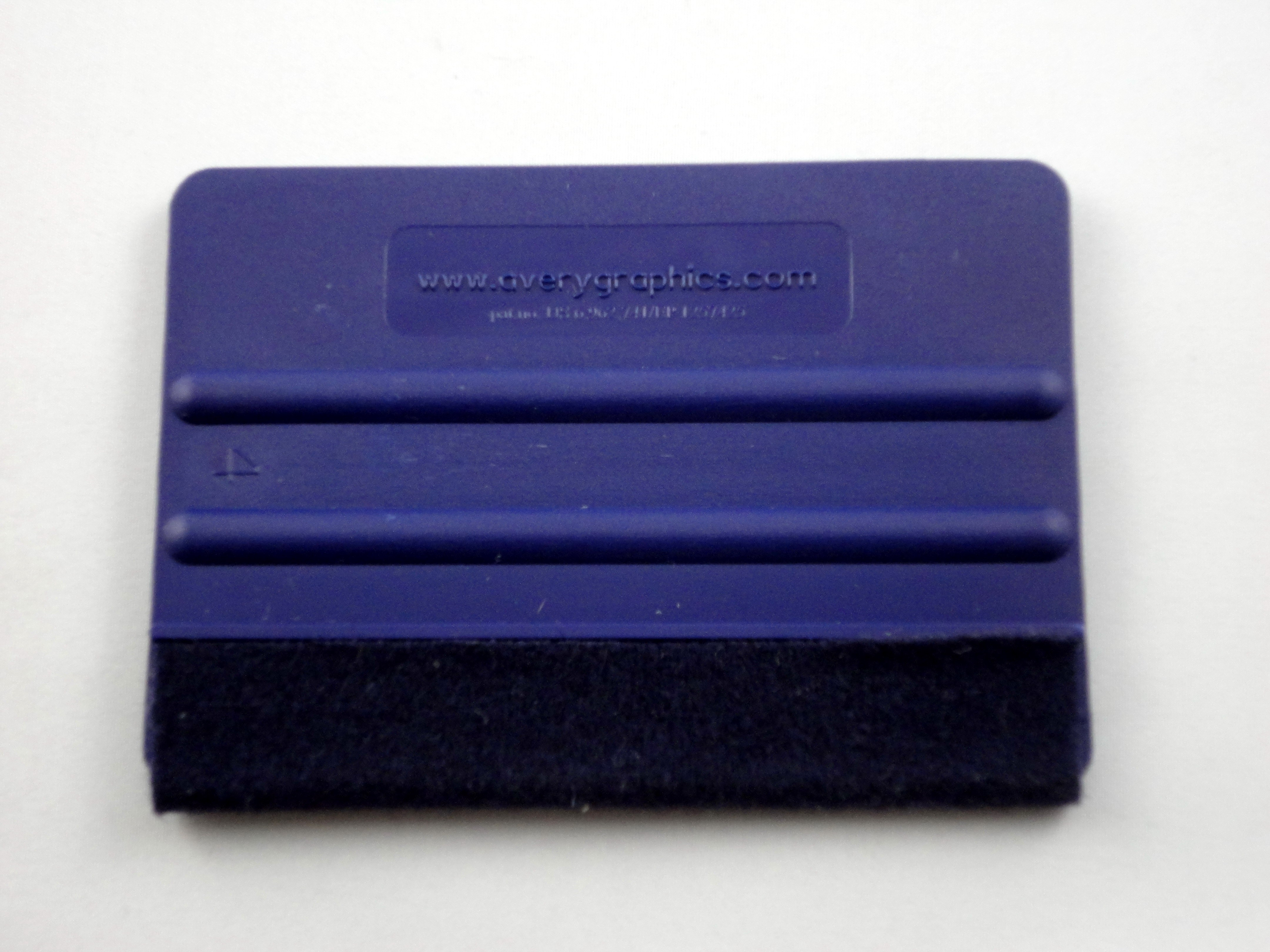Avery Blue Felt Wrapped Squeegee