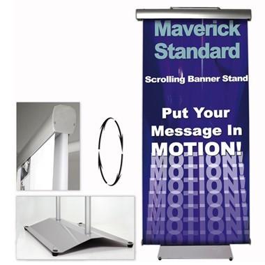 Moving Banner Stand Maverick Standard