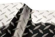 R-Tape EFX 2.8 mil Decorative Diamond Plate - Silver