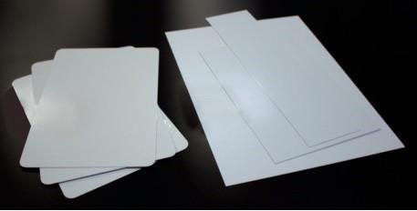 """.040 Aluminum - 1 1/2"""" radius corners,  2- holes"""