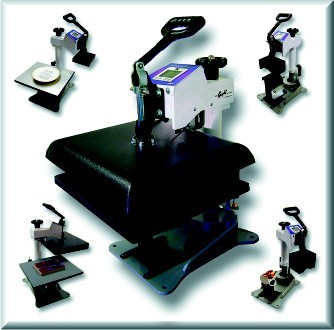 "DC16 Digital Combo 14"" x 16"" Multipurpose Swing-Away Heat Press."