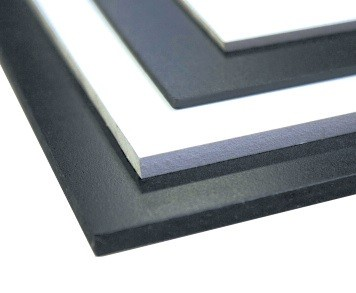 Expanded PVC Sheets Black 3mm or 6mm