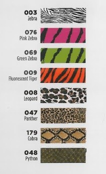 9201 Series 2.5 mil Lumina Heat Transfer Film Animal Print