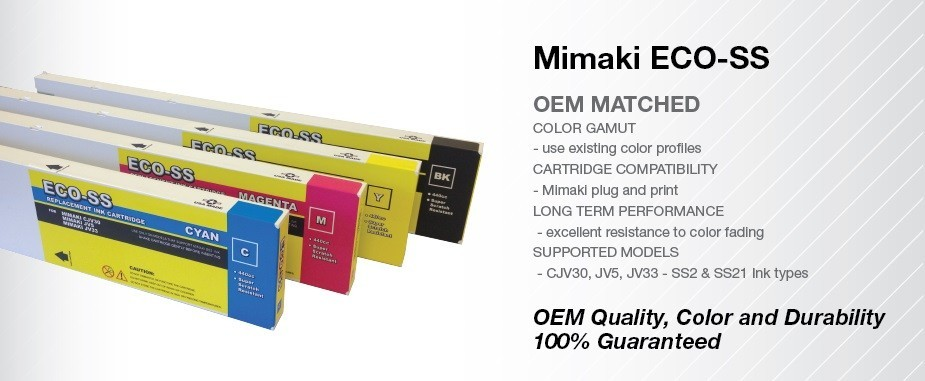 MIMAKI ECO-SS 440ml  Cartridges