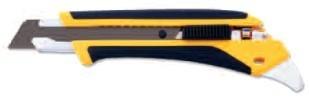 LA-X COMFORT GRIP RUBBER REINFORCED UTILITY KNIFE