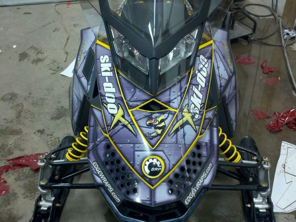 """Concept 238 MotoMark 12.0 mil """"Armor"""" Gloss Clear laminate"""