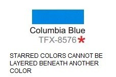 Specialty Material TFX-8576 Columbia Blue ThermoFlex Xtra