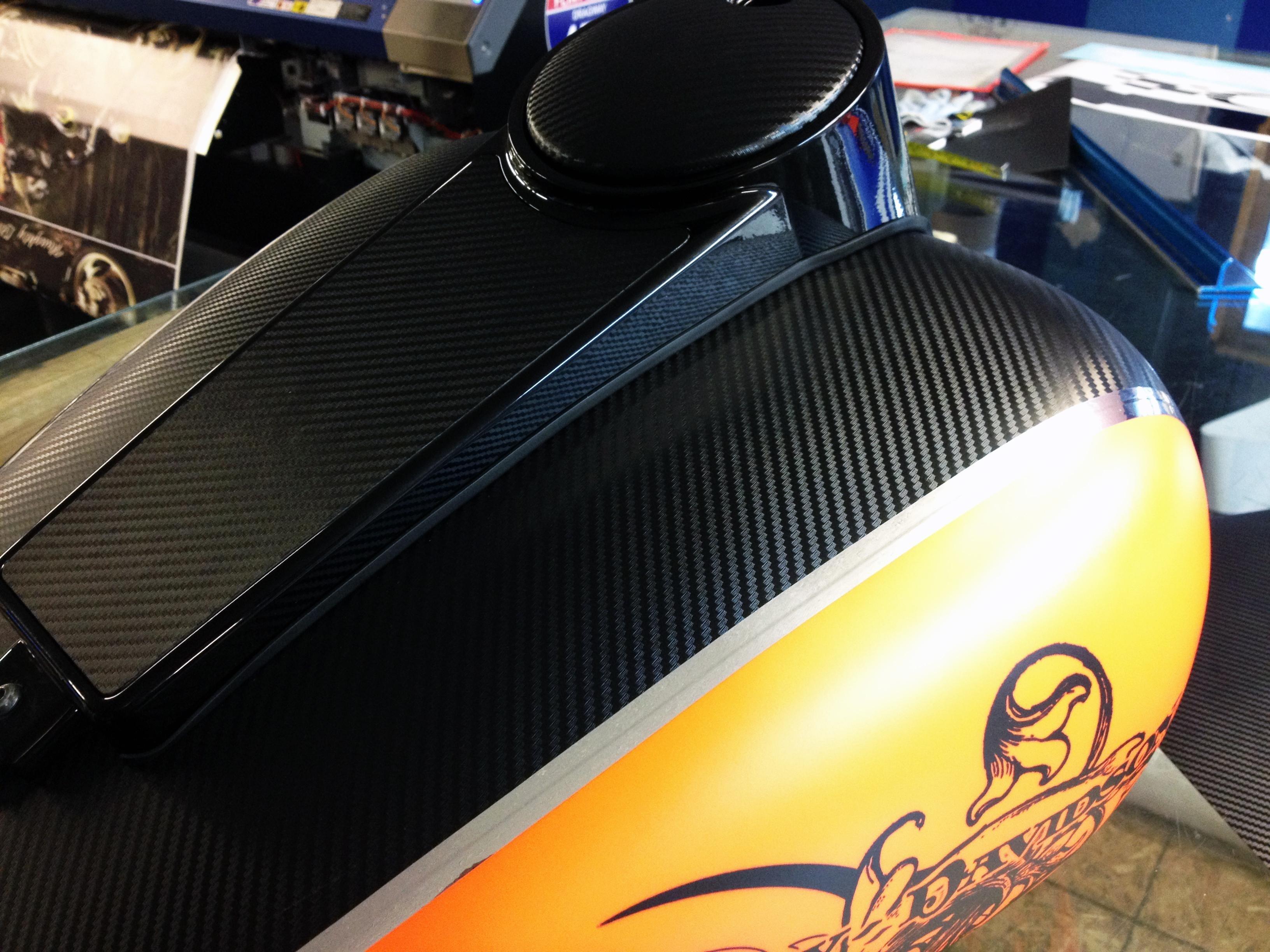 SmartCF Carbon Fiber 5.6 mil 5-year Calendered Carbon Fiber Wrap Vinyl