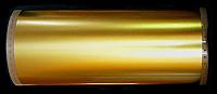 Sign Gold 1.0 mil 23.5KT Gold Satin Surface Striping W/ Black Border