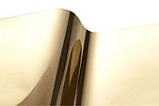 R-Tape Vinyl EFX 2.8 mil Metallized Vinyl Films Durable Smooth Gold