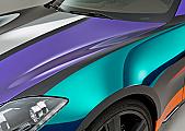 SF100 Series Transparent Colored Overlaminates
