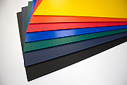 4 mm Corrugated Plastic Sign Blanks Colors Sheets