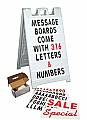 Plasticade Message Board 8450