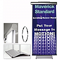 Moving Banner Stand Maverick Standard