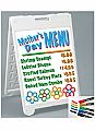 """Plasticade Marker Board 24""""W x 36""""H"""